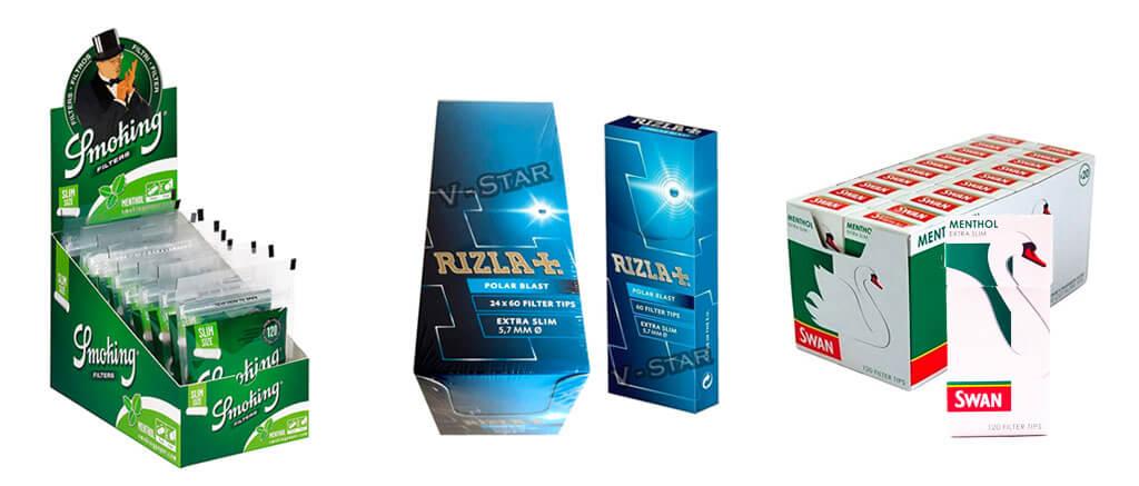 sustitutos filtros tabaco mentolado