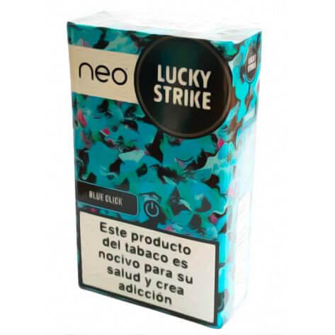 tabaco lucky strike mentolado blue